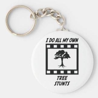 Tree Stunts Keychain