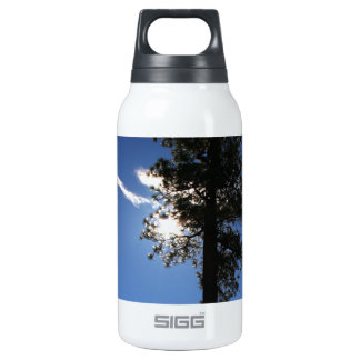 Tree, Sun & Cloud Insulated Water Bottle