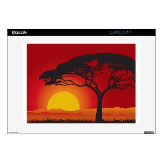 """Tree sunset 15"""" laptop skins"""
