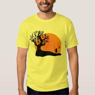 Tree Sunset Tee Shirt