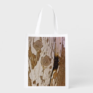 Tree Surface Reusable Grocery Bags