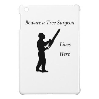 Tree Surgeon Arborist at work present Chainsaw Case For The iPad Mini