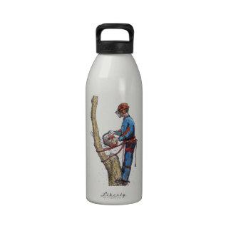Tree Surgeon Arborist christmas present Birthday Drinking Bottles