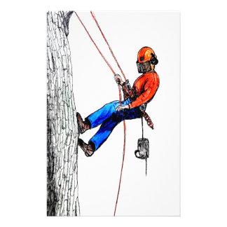 Tree Surgeon Arborist Forester Stationery