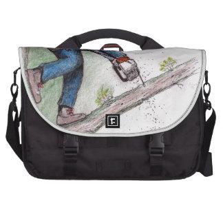 Tree Surgeon Arborist Lumberjack Laptop Commuter Bag
