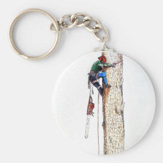 Tree Surgeon Arborist Stihl Keychain