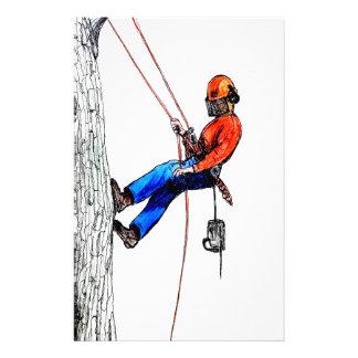 Tree Surgeon Arborist Stihl Stationery