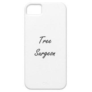 Tree Surgeon Artistic Job Design iPhone 5 Cover