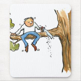 Tree surgeon mouse pad