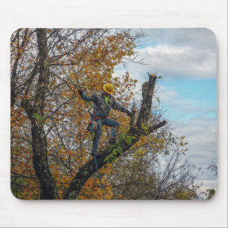 Tree Surgeon Mouse Pad