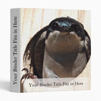 Tree Swallow in box Binder