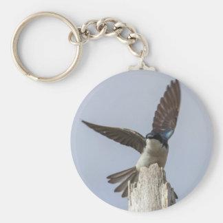 Tree Swallow Keychain