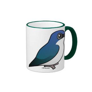 Tree Swallow Ringer Coffee Mug