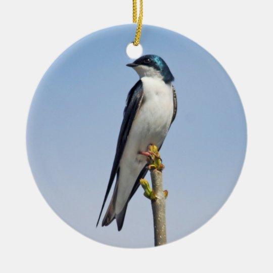 Tree Swallow Ornament