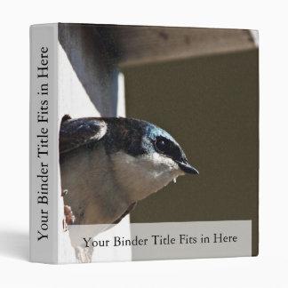 Tree Swallow Profile in Nest Box Binders