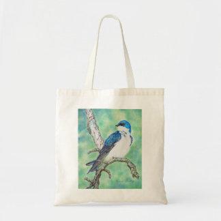 Tree Swallow Tote Bag