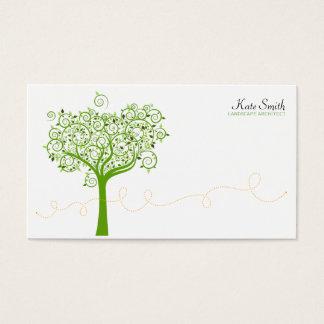 Tree & Swirl Business Card