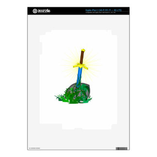 tree sword knife iPad 3 skin