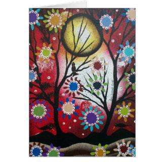 Tree Talk_By Lori Everett_ Day Of The Dead,DOD Greeting Card
