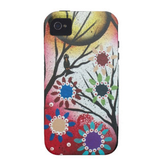 Tree Talk_By Lori Everett_ Day Of The Dead,DOD Vibe iPhone 4 Case