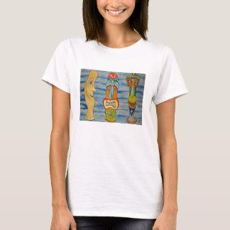 Tree Tikis Cuz Womens cropped t-shirt