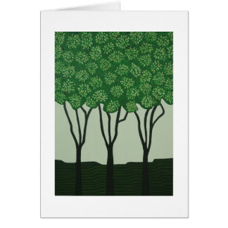 """Tree Time"" Card"