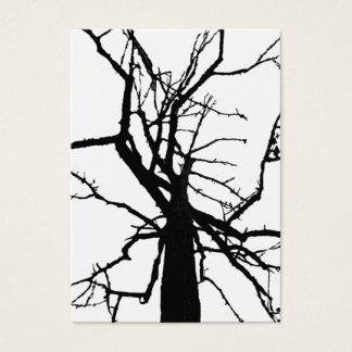 Tree Top Abstract ATC Business Card