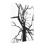 Tree Top Abstract Canvas Print
