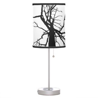 Tree Top Abstract Desk Lamps