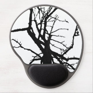 Tree Top Abstract Gel Mouse Pad
