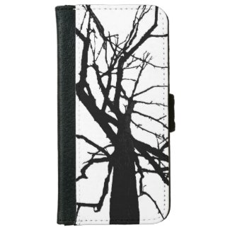 Tree Top Abstract iPhone 6 Wallet Case