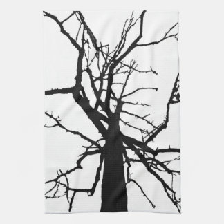 Tree Top Abstract Towel