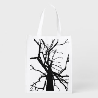 Tree Top Abstract Grocery Bags