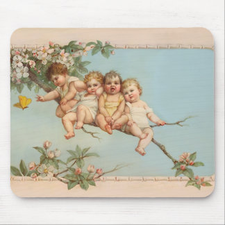 Tree Top Babies Mouse Pad