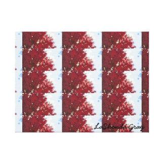 Tree Top Burgundy- Photography Print (Tile)