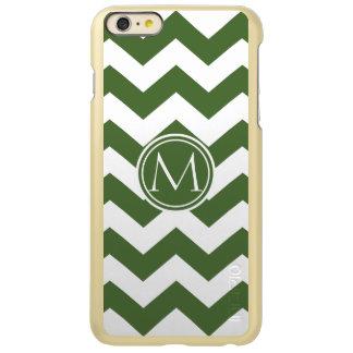 Tree Top Chevron Monogrammed Incipio Feather Shine iPhone 6 Plus Case