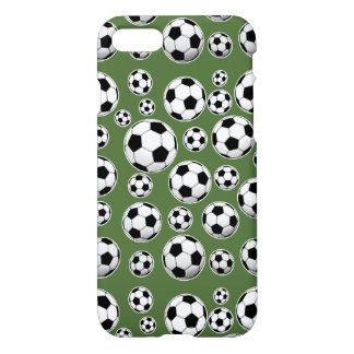 Tree Top Soccer Ball Pattern iPhone 7 Case