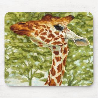 Tree Topper Giraffe Mouse Pad