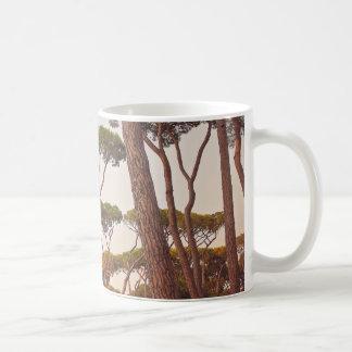 Tree tops mug