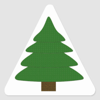 Tree Triangle Sticker