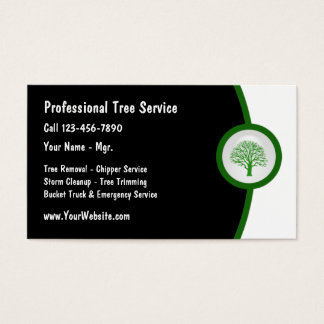 Tree Trimmer Business Card