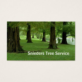 Tree Trimmer Service Business Card