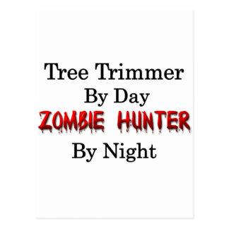 Tree Trimmer/Zombie Hunter Postcard