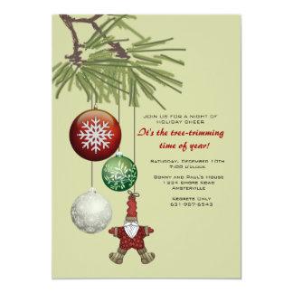 Tree Trimming Time Invitation