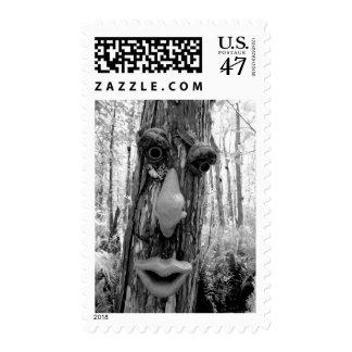 Tree troll on a Big Cypress tree. Postage