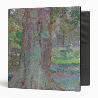 Tree Trunk, 1916 (oil on canvas) 3 Ring Binder