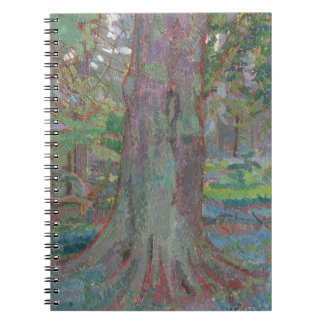 Tree Trunk, 1916 (oil on canvas) Spiral Note Books