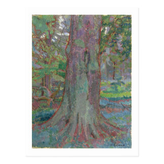 Tree Trunk, 1916 (oil on canvas) Postcard