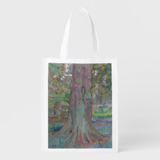 Tree Trunk, 1916 (oil on canvas) Grocery Bag