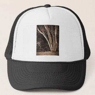 Tree Trunk Drawing Trucker Hat